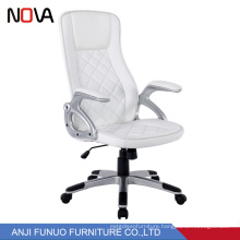 Modern fashionable appearance White high back  Computer PU Leather Racing executive Office Chair