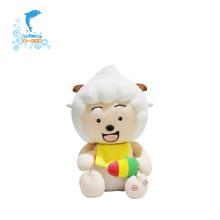 Brinquedos de pelúcia preguiçosos personalizados podem chorar de rir