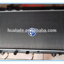 aluminum plastic auto radiator for toyota paseo at26
