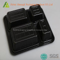 disposable food containers with compartments