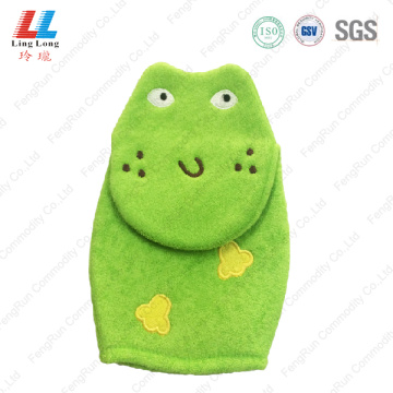 Newest animal bath gloves shower item