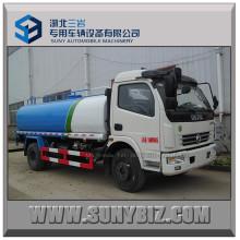 8t Dongfeng 120HP Camion-citerne à eau Camion à pulvériser à l'eau