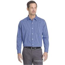 High quality custom fashion men's full sleeve business dress shirt cotton manufacturers