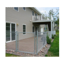 ASTM A392 Pvc Coated Chain Link Fencing  Wholesale 8 Foot Chain Link Fence Privacy Prices With Gate