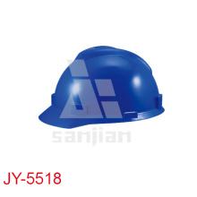 Casco de seguridad barato industrial plástico de Jy-5518
