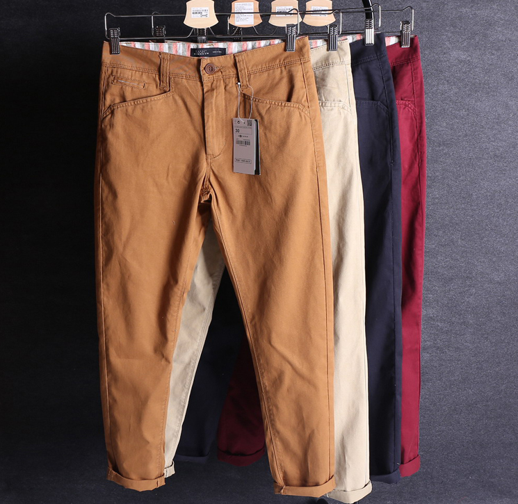 High Quality Cotton Dyed Twill Trousers Fabric