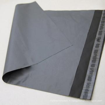 Transporteur personnalisée gris sac en plastique