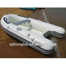 fibra de vidrio piso pvc material 520 costilla del barco