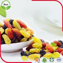 Raisin noir aux raisins et aux raisins secs