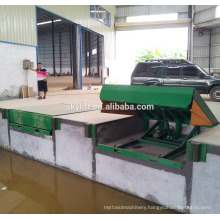 Stationary 6t hydraulic electric adjustable car ramps