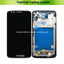 para LG G2 D802 Pantalla LCD con montaje de panel táctil