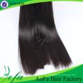 Trama del pelo de Remy de la Virgen del pelo recto humano del grado 7A