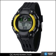 Prix d'usine en acier inoxydable arrière montre-bracelet numérique sport