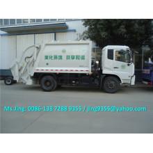 DONGFENG 4x2 caminhão compactador de lixo novo, caminhão de lixo compactador de lixo capacidade 10-12T à venda em Dubai