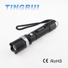 Aluminium Zoomable High Power Flashlight senter police