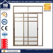 Двери с двойным остеклением алюминиевые раздвижные с окнами и дверьми As2047 / Aluminium