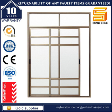 Doppelverglaste Aluminium-Schiebetüren mit As2047 / Aluminium-Fenster und Türen