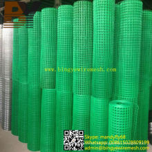 Acoplamiento de alambre soldado galvanizado / PVC