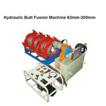 Máquina de solda de fusão de topo de tubo HDPE HONGLI (63mm-200mm)