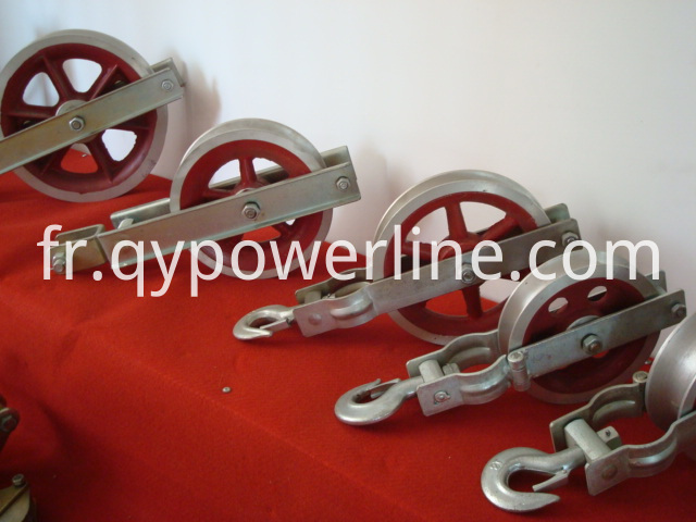 Alu Sheave Ground wire stringing pulley