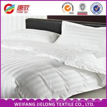 белый сатин в полоску хлопок ткань для пользы дома гостиницы нашивки сатинировки текстильными и отель постельные принадлежности 100% хлопчатобумажной ткани