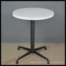 Table basse en bois blanc Eian de Corian (SP-RT473)