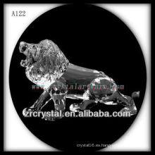 Bonita estatuilla de cristal animal A122