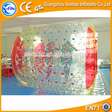 PVC high quality hot water hair rollerer water walking rollers water roller ball price