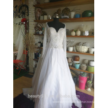 Mermaid Wedding Dress Elegant sweatheat Lace bridal gown P097