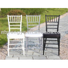 wedding plastic resin chiavari chair
