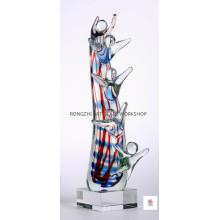 Memories of Childhood Glass Sculpture