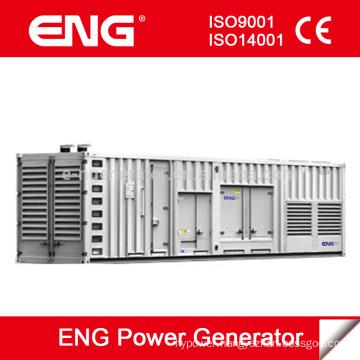 50Hz 1500rpm series 1000kva generator container type with Cummins diesel engine KTA38-G5