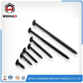 black phosphated drywall screw