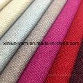 Tissu décoratif de sofa de polyester 100% imprimé par Jacquard Linen
