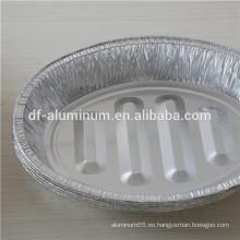 Desechable Oval Extra Profundo Aluminio Foil Turquía Roaster Pan