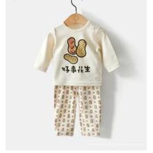 Combinaison de corps organique de bébé de conception de Lovely avec la certification de Gots