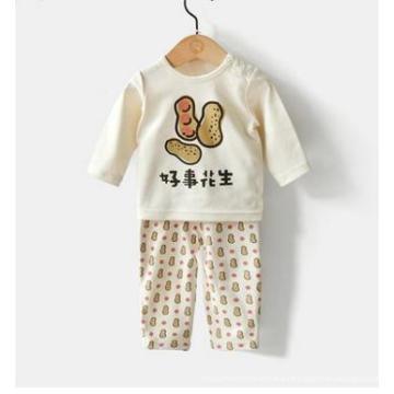 Traje de baño orgánico encantador del diseño del bebé con la certificación de Gots