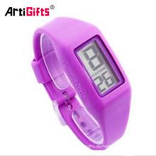 Venta caliente delicada personalizada intercambiables pulsera montre en silicona