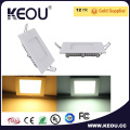 85lm/W 15W Square Embedded LED Panel Light Ce RoHS SAA Approval