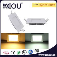 85Lm/W 15W Square incorporé panneau LED lumineux Ce RoHS approbation de SAA