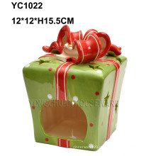 Handgemalte Geschenkboxen Kerzenständer