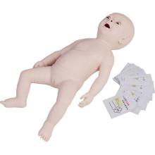 Treinamento Médico Obstrução Infantil e Modelo de RCP