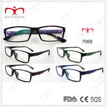 Nuevo marco óptico de Eyewearframe de la manera Tr90 Eyewearframe (7068)
