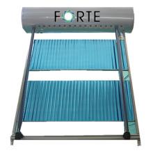 Proyecto de calentamiento de agua de nivel superior Colector solar de tubo de calor