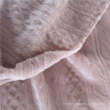 Твердая фланелевая текстильная ткань из полиэстера