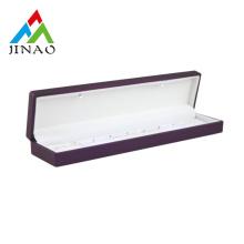Luxury bracelet box custom logo with velvet inside
