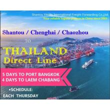 Shantou/Chenghai/Chaozhou to Thailand Direct Line