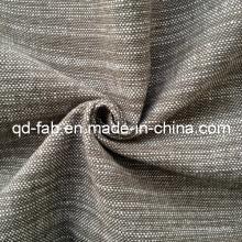 100% Hilado de algodón Tejido Tejido Tejido (QF13-0767)