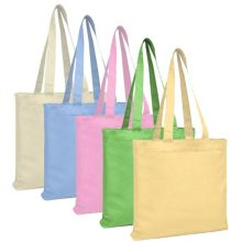 Your own pure colorful canvas bags