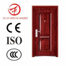 Главная деревянная дверная дверь из нержавеющей стали Deisgn